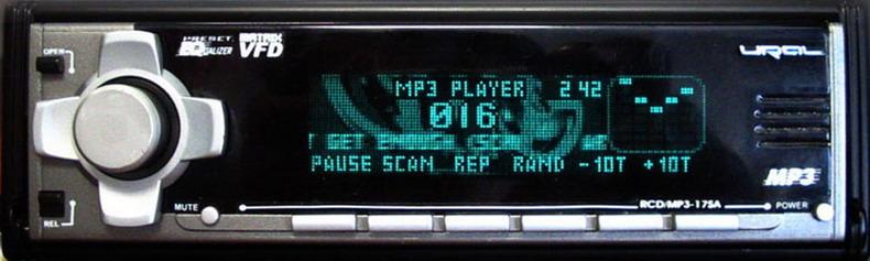 RCD/MP3-17SA